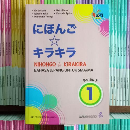 Foto Produk BUKU BAHASA JEPANG SMA/MA KELAS 10 revisi K13N dari Pelangi books