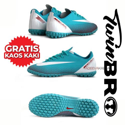 Foto Produk sepatu futsal nike mercurial terbaru - Biru Muda, 39 dari xoxobandung