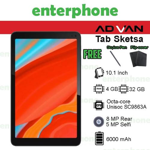 Foto Produk Advan Tab Sketsa 10 Inci 4GB 32GB Garansi Resmi - TABLET KEYBOARD dari enterphone2