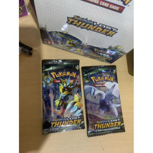Foto Produk Kartu Sun & Moon Series New Collection ; Pokemon Trading Card Game - Lost thunder dari HausJo