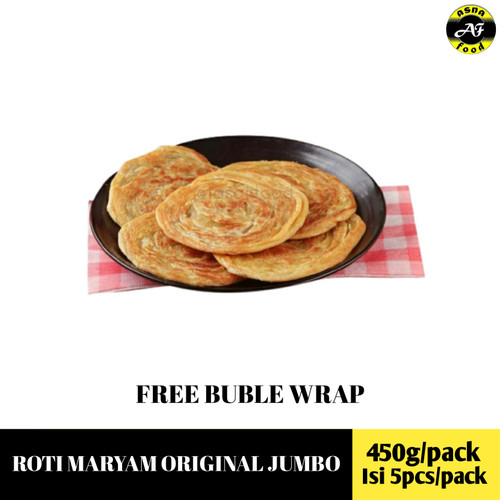 Foto Produk roti maryam tasaji cane jumbo dari Asnafood