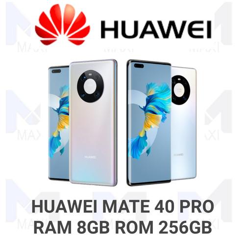 Foto Produk Huawei Mate 40 pro 5G 8/256 Ram 8GB Rom 256GB Garansi Resmi - No Bonus dari Maxi phone cell