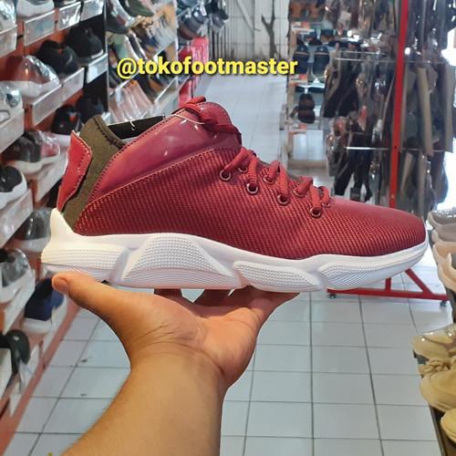 Foto Produk Sepatu Basket Ardiles Original BKS-Sedona Maroon Hitam dari Toko Sepatu FootMaster