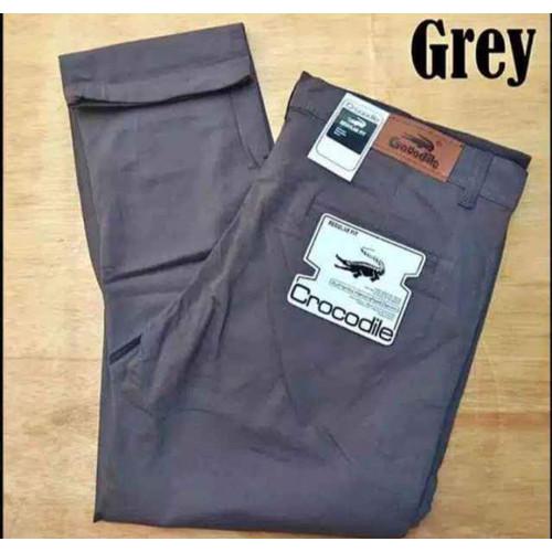 Foto Produk Celana Chino Panjang Pria Grey Original Terbaru Murah Berkualitas - Grey, 27 dari CELANA CHINO PANJANG PRIA