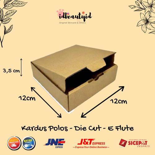 Foto Produk kardus Packing uk. 12x12x3,5 cm --Die Cut dan easy usage dari idbeautyid