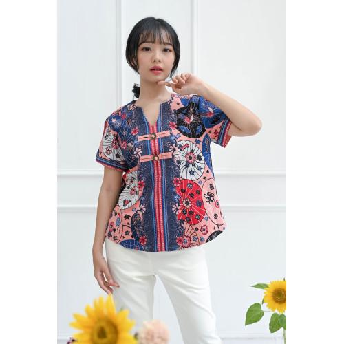 Foto Produk Kawai - Xian Top / Atasan Batik Wanita - Standar dari Lustopia_Collection