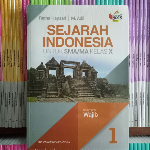Foto Produk BUKU SEJARAH INDONESIA SMA/MA KELAS 10 kelompok wajib revisi K13N dari Pelangi books
