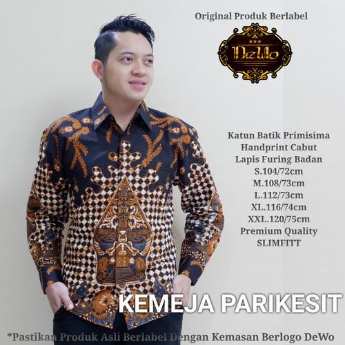 Foto Produk kemeja pria slimfit batik praba premium dari Jivan Batik