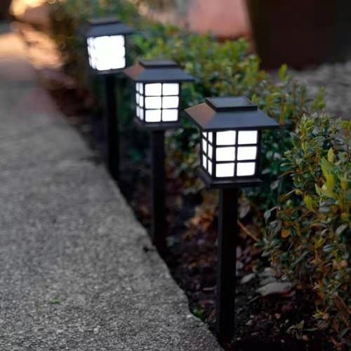 Foto Produk 2PCS--Lampu Taman LED Creative Energi Solar Black dari ICG
