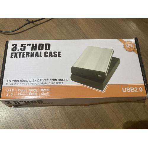 Foto Produk Case HDD Hardisk 3,5 inch lengkap kabel dan power supply dari DONEX