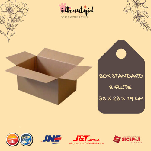 Foto Produk Kardus Box Polos - Karton Packing 36x23x19 cm dari idbeautyid