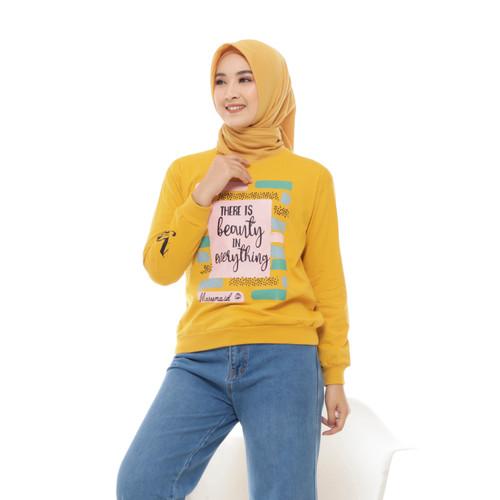 Foto Produk Sweater Wanita Premium - Yellow Top dari adhelia Online SHOP