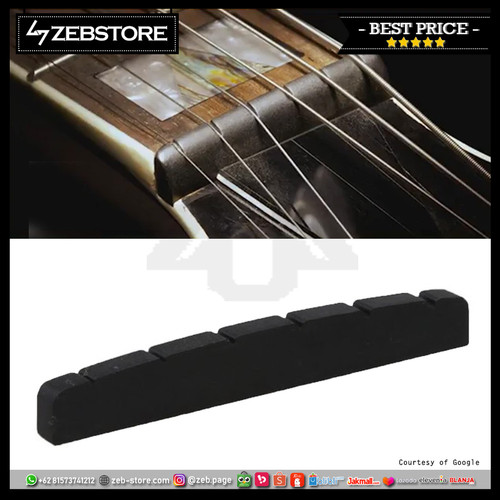 Foto Produk Nut Electric Graph Stratocaster Black dari Zeb Hobbies Store