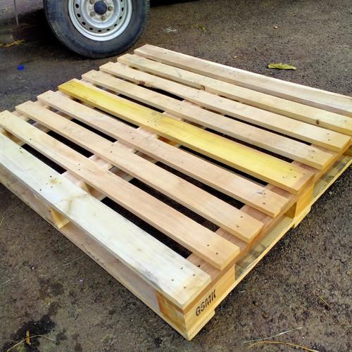 Foto Produk palet kayu ukuran 120x100x15cm kondisi siap pakai - 120x100cm dari indah karya sentosa