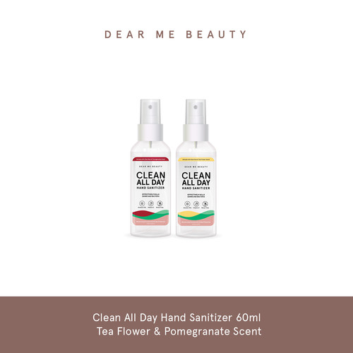 Foto Produk Clean All Day Hand Sanitizer Bundle - Tea Flower & Pomegranate Scent dari Dear Me Beauty