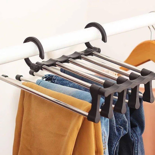 Foto Produk hanger gantungan celana multifungsi - Putih dari kidzbookstore_import
