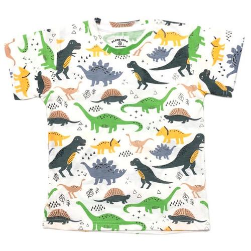 Foto Produk Kaos Full Print Katun Anak 1-3 Tahun Motif Dinosaurus Adem Lembut - 2 dari MyJAC Collection