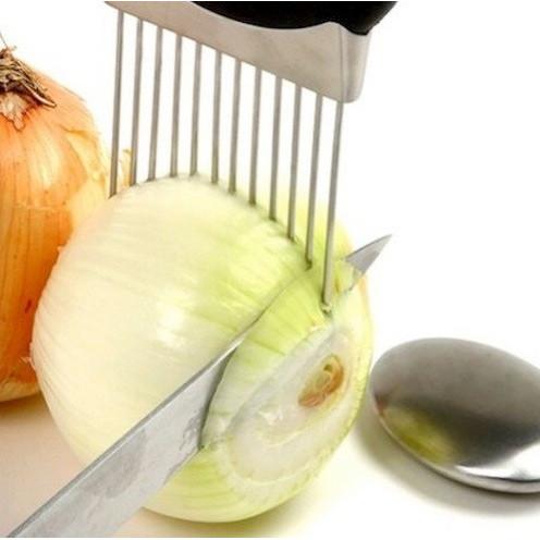 Foto Produk Easy Cut Onion Slicer Cutter Tomat Alat bantu potong Bawang Bombay Top dari BEST SHOP GROSIR