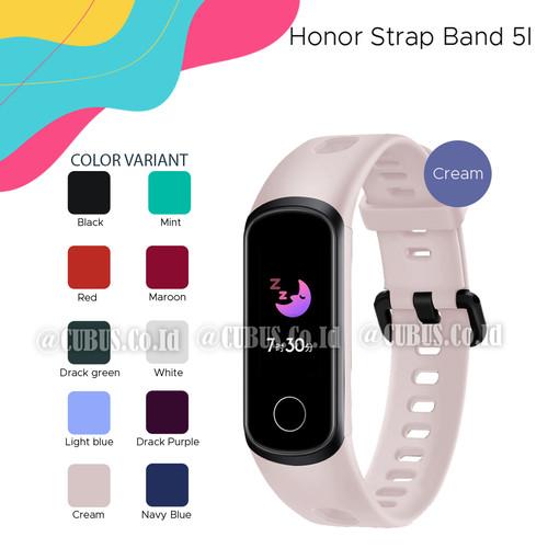 Foto Produk Smart Bracelet Wrist Strap For Huawei honor 5i Band Silicone - Cream dari Cubus_Co_ID