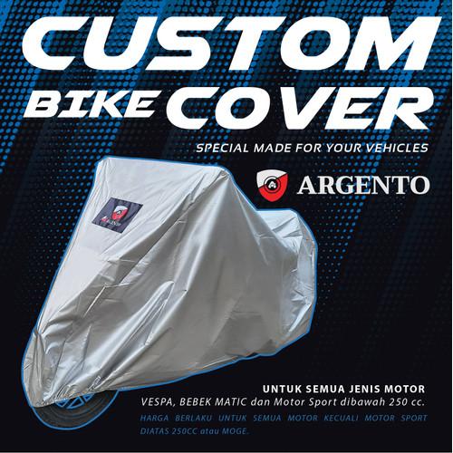 Foto Produk Nmax PCX Xmax Tmax Vario Cover Sarung Selimut Motor Argento - silver, PCX dari TDC Variasi
