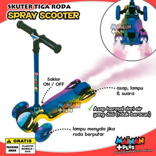Foto Produk MAINAN SKUTER ANAK OTOPED ASAP KICKBOARD SPRAY ROCKET SCOOTER dari MainanPlus