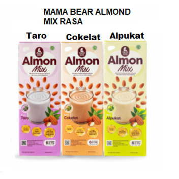 Foto Produk Mama Bear Almon Mix ASI Booster Minuman Serbuk Almond Daun Katuk - TARO dari Bella Shop Jkt