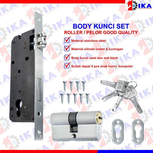 Foto Produk Body kuncit set tarikan pintu pelor roller estilo vip anak kunci 4 dari Indokaryaabadi