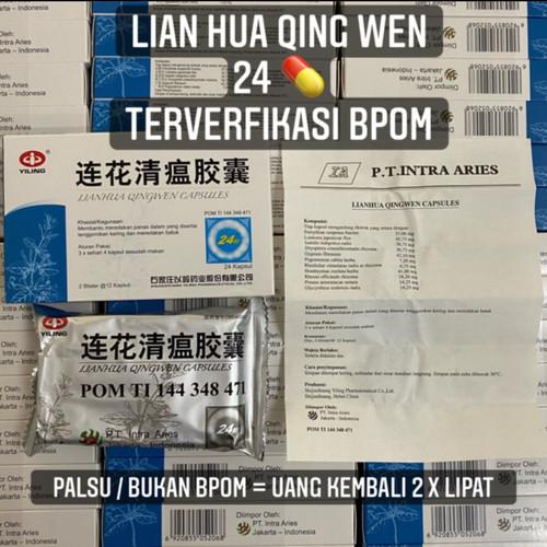 Foto Produk LianHua QingWen BPOM Original 100 % dari healthstation