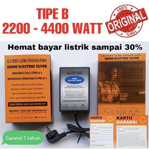 Foto Produk Penghemat Listrik-Home Electric Saver Original 2200 - 4400 Watt TIPE B dari Toko168makmur