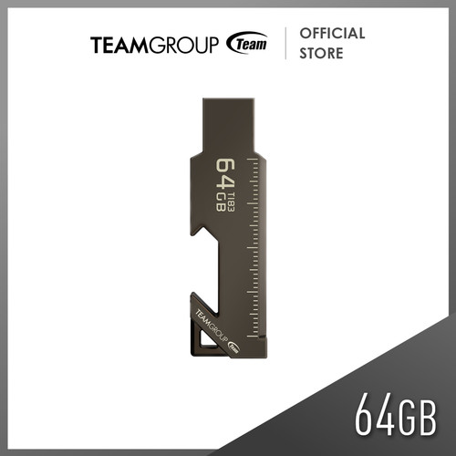 Foto Produk TEAMGROUP T183 USB 3.0 FLASH DRIVE 64GB Black dari Teamgroup Official Store