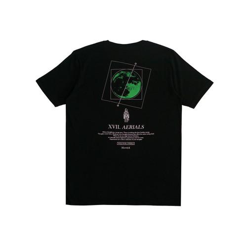 Foto Produk Morwick Tshirt Kaos Pria Aerexial Hitam - S dari Morwick Official Shop