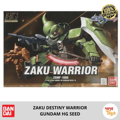 Foto Produk Bandai HG Gundam Seed 1/144 Zaku Warrior Destiny ZGMF-1000 dari Vovo Toys