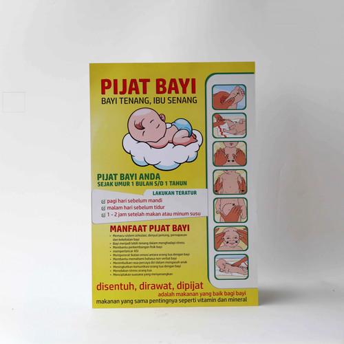 Foto Produk Poster Pijat Bayi dari Syafana