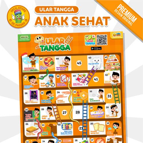 Foto Produk Ular Tangga Anak Sehat PREMIUM Solite Kids dari Secil Mainan