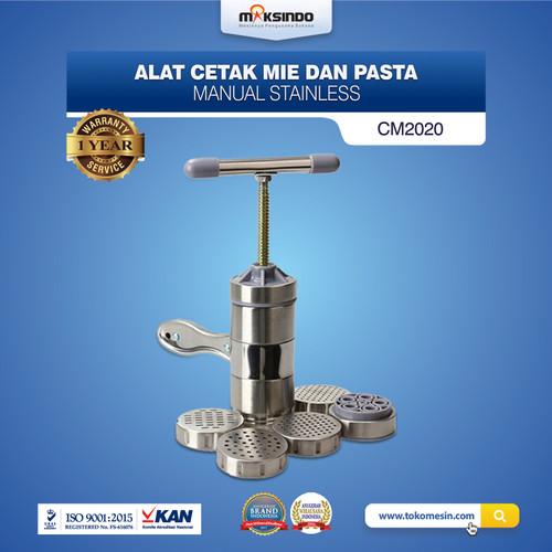 Foto Produk Alat Cetak Mie Manual Stainless Steel 5 Cetakan dari Maksindo