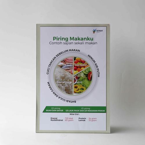 Foto Produk Poster Piring Makanku dari Syafana