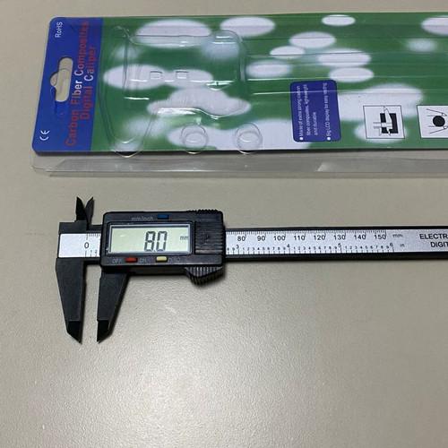 Foto Produk Jangka Sorong Digital Sigmat Sketmat Vernier Caliper Calliper Carbon dari RWshopss