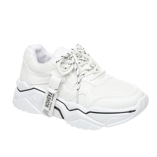 Foto Produk PVN Sepatu Sneakers Wanita Sport Shoes 099 - white white, 38 dari PVN Official Store