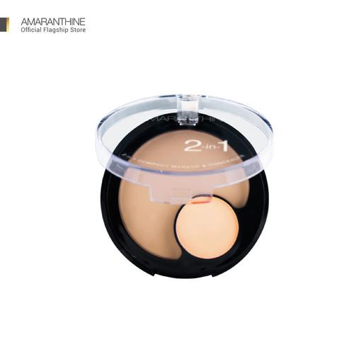 Foto Produk Amaranthine 2 in 1 Compact Make Up Concealer - Natural Tan dari AmaranthineOfficial