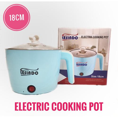 Foto Produk Electric Cooking Pot 16cm/ pemanas air - 16cm dari Ali88shop