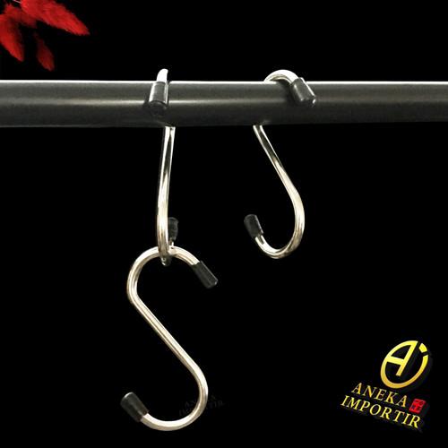 Foto Produk Gantungan Stainless Tipe Bentuk S Hook Serbaguna dari Aneka Importir