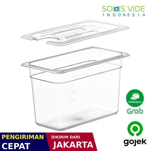 Foto Produk Sous Vide Container (Small 7 litres) - box and cover for Anova dari Sous Vide Indo