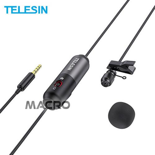 Foto Produk Microphone Lavalier Mini MIC-LAV02 Jack 3.5mm TELESIN dari MACRO