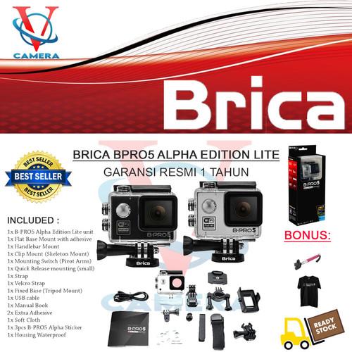 Foto Produk Brica Bpro/B-Pro 5 Alpha Edition (AE) LITE Full HD 1080p Wifi - silver dari Vincent Camera