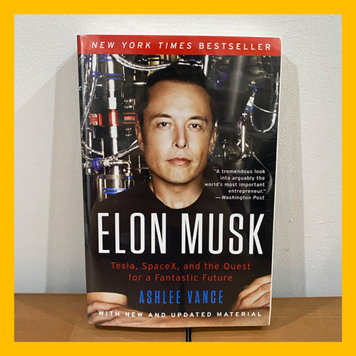 Foto Produk Buku Import Elon Musk by Ashlee Vance (Original Paperback) dari Book World