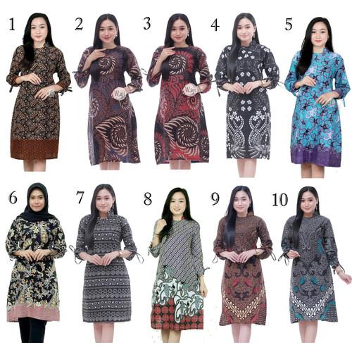 Foto Produk Baju Atasan Wanita Tunik 01 / Blus Batik Kantor dari Batik Ifa