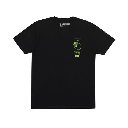 Foto Produk Morwick Tshirt Kaos Pria Globe Hitam - S dari Morwick Official Shop