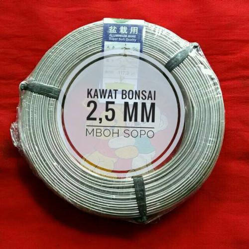 Foto Produk Kawat Bonsai 1 Rol - ukuran 2,5mm dari Mboh Sopo
