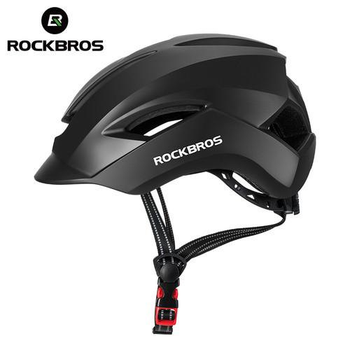 Foto Produk Rockbros Helm Sepeda Lipat MTB Road Bike Helmet WT-099 ORIGINAL - Hitam dari VERTIN Labs
