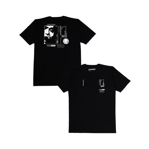 Foto Produk Morwick Tshirt Kaos Pria Uprising Hitam - S dari Morwick Official Shop